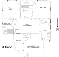 Mudroom, Floor Plans, and Basement of Topping Hollow
